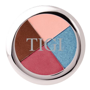 TIGI High Density Eyeshadow Quad in Lush