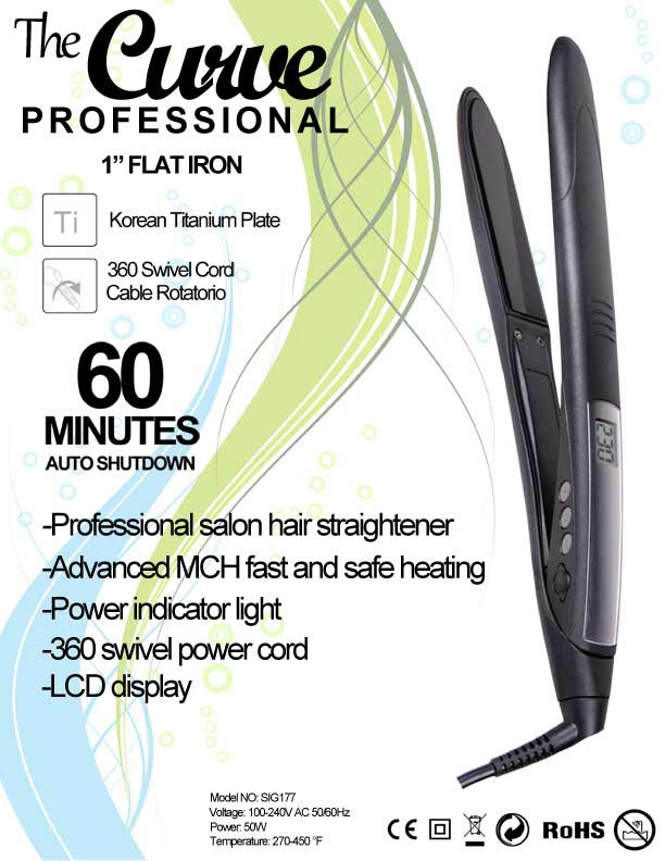 The Curve Flat Iron