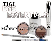 TIGI Cosmetics Eye Essentials - Eyeliners, Mascaras, Brow Pencils, and more.